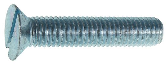 VKP STEEL DIN 963 M 5x30 4.8 ZN skrutka so zapustenou hlavou s plochou drážkou