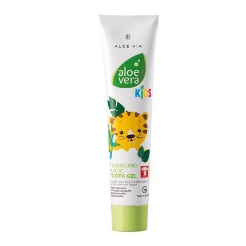LR Health & Beauty LR Aloe Vera Kids Care Magicky třpytivý zubní gel 50 ml