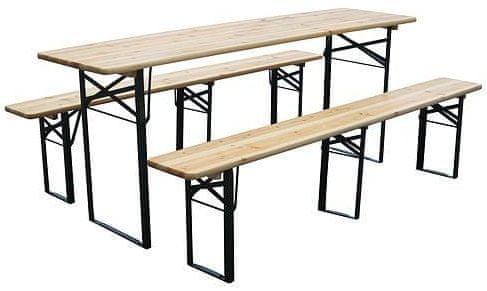 Portoss stol s klupom, 220/70 x 77 cm