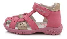 D-D-step lány tavaszi cipő AC290-119, 19, rózsaszín