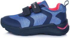 D-D-step lány cipő F61-703C, 32, kék
