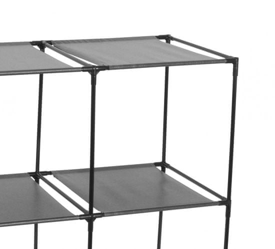 TimeLife stoječ organizator, 2 x 2 polici, 70 × 35 × 69 cm