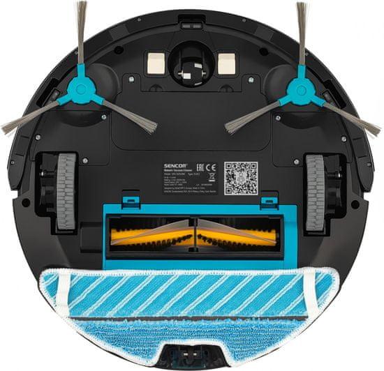 SENCOR SRV 8250BK Robotický Vysavač 2v1 CAMERA WiFi