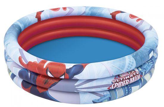 Bestway 98018 Spider-Man napihljiv bazen, 122 cm