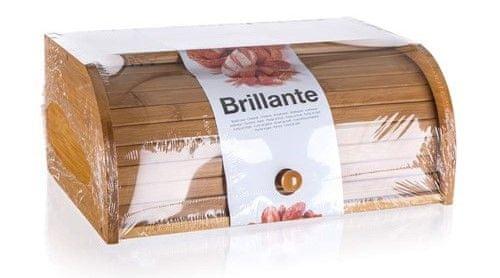 Banquet lesena posoda za kruh Brillante, 40 × 27 × 16 cm