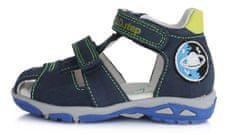 D-D-step Fiú szandál AC290-395, 19, kék