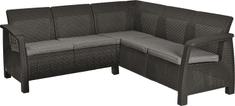 KETER sofa ogrodowa CORFU RELAX antracit