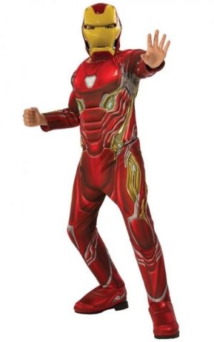 Rubie's Avengers Endgame: Iron Man - DELUXE kostým s maskou vel. S