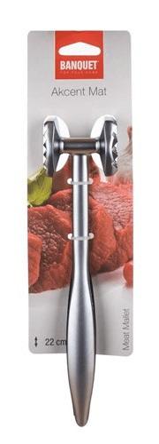 Banquet čekić za meso Akcent mat, 22 cm