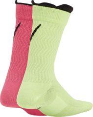 Nike dětské ponožky Swoosh (2Pack) M vícebarevná