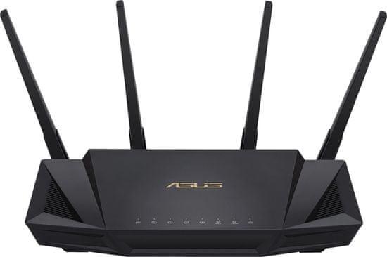Asus RT-AX58U brezžični usmerjevalnik, Dual-Band, WiFi, AX3000
