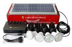 Viking solární solární sestava Home Solar Kit RE5204 VHSRE5204, černá