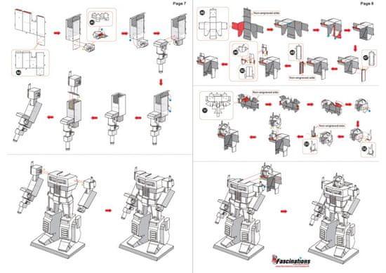 Metal Earth 3D puzzle Transformers: Optimus Prime
