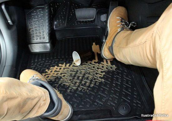 J&J Automotive Gumiszőnyeg Mitsubishi Outlander III 2014- magasabb