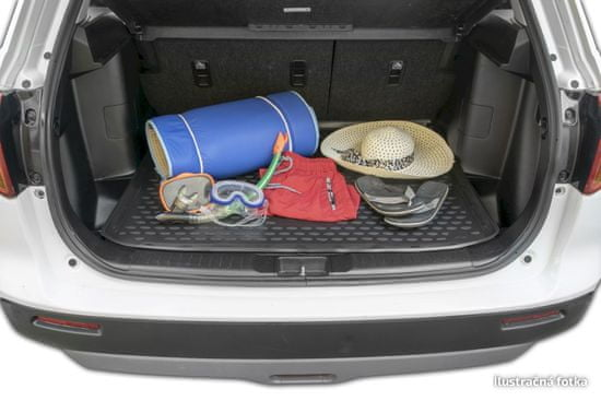 J&J Automotive Gumi csomagtértálca Land Rover Discovery Sport 2014- magasabb without trun