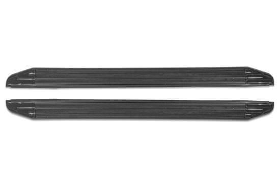 Rival Premium Black Oldalfellépők – TÜV tanúsítvány Mitsubishi L200 2006-2015