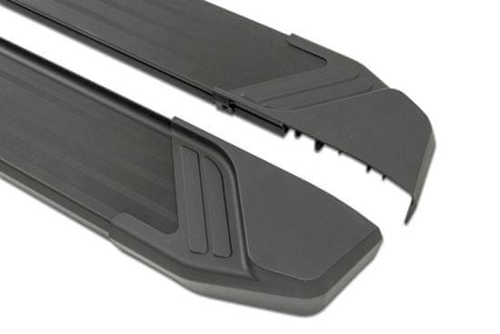 Rival Basic Black Bočné nášľapy TUV Chevrolet Captiva 2011-2015
