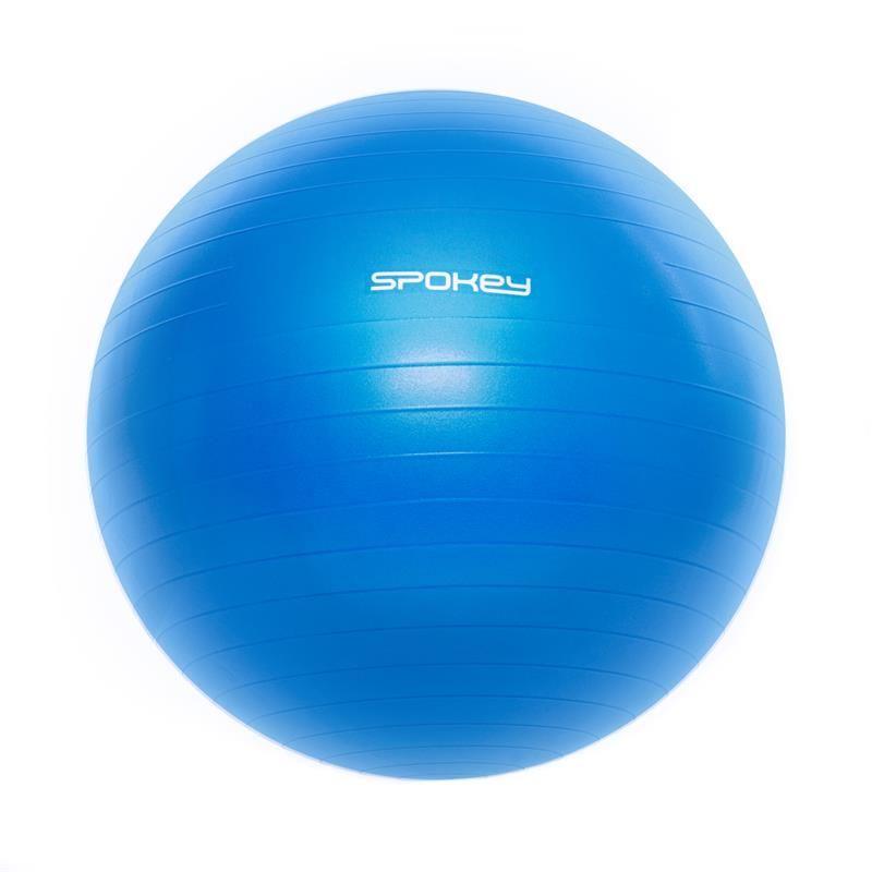 Spokey Fitball III Gymnastický míč 75 cm modrý