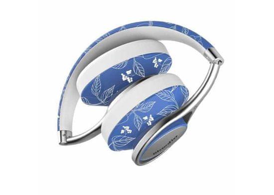 Symfony A2 kvalitní Hi-Fi kovová sluchátka, květiny