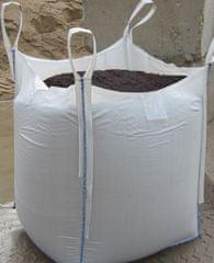 Juta Vak na odpad 100/100/100 cm - biely