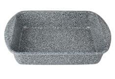 Berlingerhaus Plech na pečení s mramorovým povrchem hluboký 36x27x7cm