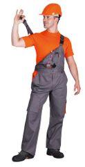 Desman Australian Line pánské tenké montérkové kalhoty s laclem Desman 56