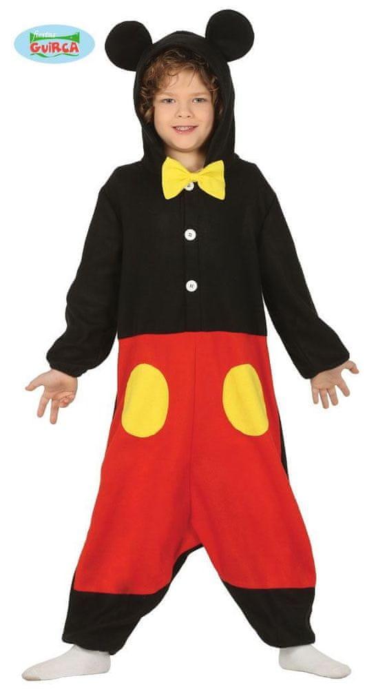 Dětský kostým myš - myšák - velikost 5-6 let
