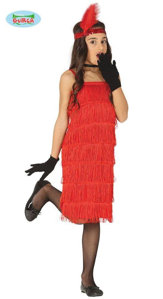 Dětský kostým - šaty charleston - velikost 5-6 let