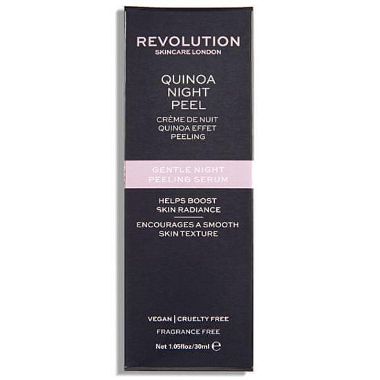 Revolution Skincare Jemné noční peelingové sérum Quinoa (Gentle Night Peeling Serum-Quinoa Night Peel) 30 ml