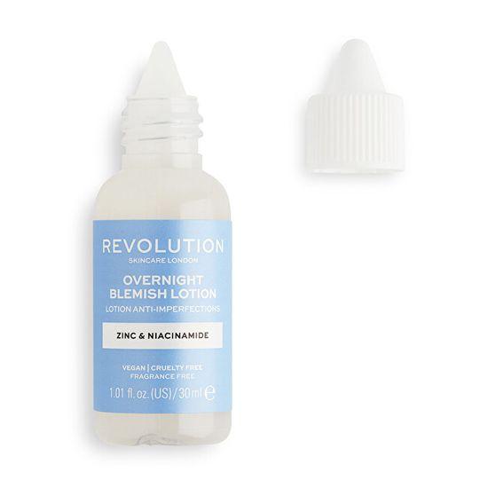 Revolution Skincare Čez noč Blemish Scincare (Lotion Anti-Imperfections) 30 ml