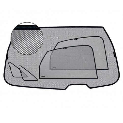 Laitovo Slnečné clony VW Sharan 2003-2010 (po facelifte, manuálne bočné okná v kufri)