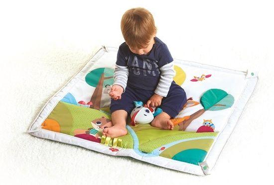 Tiny Love Hrací deka s hrazdou Deluxe Lesní krajina