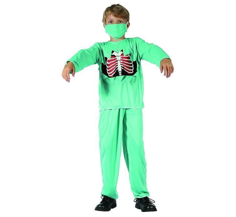 Dětský kostým Zombie doktor - velikost 110-120 cm