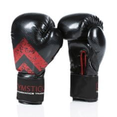 Gymstick boksarske rokavice, 10, črne/rdeče