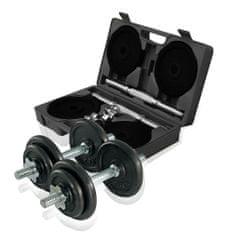 Gymstick set uteži, 20 kg, nastavljiv