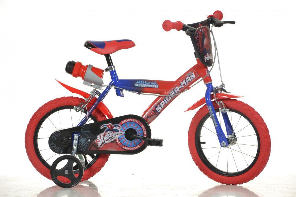 """Dino bikes Chlapecké kolo Spiderman 14"""""""