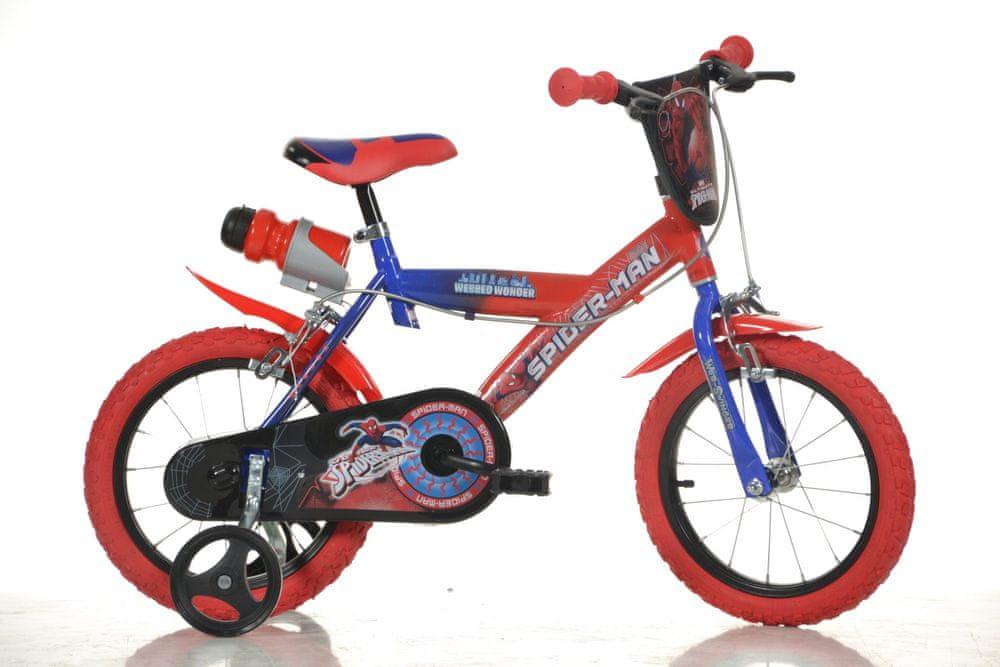 """Dino bikes Chlapecké kolo Spiderman 16"""""""