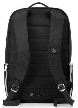 HP Pavilion Accent Backpack 15 4QF96AA, černá / stříbrná