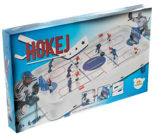 Teddies Gra hokej 63x41cm plastik/metal w pudełku 73x43,5x8,5cm