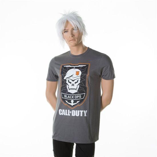 Tričko Call of Duty: Black Ops 4 - Skull Logo (veľkosť XL)