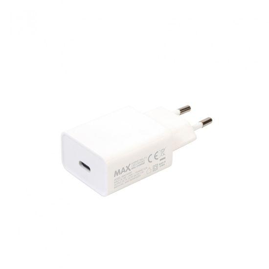 MAX Nabíjačka USB-C 18W, biela