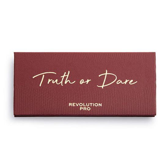 Revolution PRO Truth or Dare szemhéjpúder paletta (Colour Focus Shadow Palette) 10 x 1,5 g