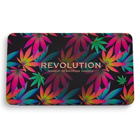 Makeup Revolution Forever brezhibna paleta senčil za oči 19,8 g