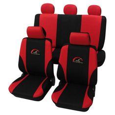 Cappa TURBO üléshuzat fekete/piros