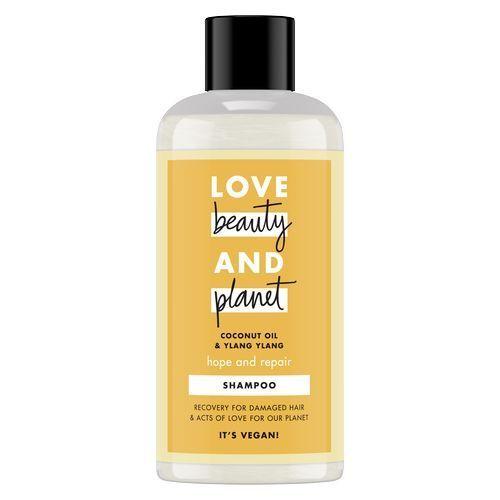 Love Beauty & Planet Šampon za suhe in poškodovane lase z ylang-ylangom in kokosovim oljem (Hope and Repair Shampoo)