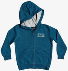 Quiksilver chlapecká mikina Bigpiczipboy 3Y modrá