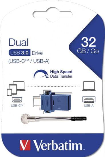 Verbatim podwójny dysk flash Store 'n' Go Dual Drive 32GB