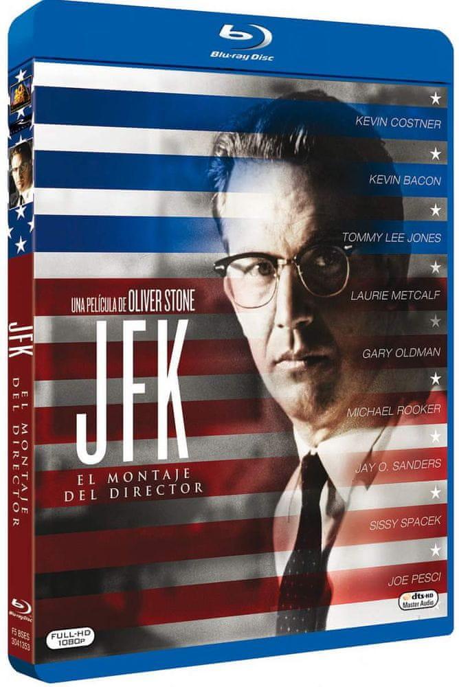 JFK (režisérská verze) - Blu-ray