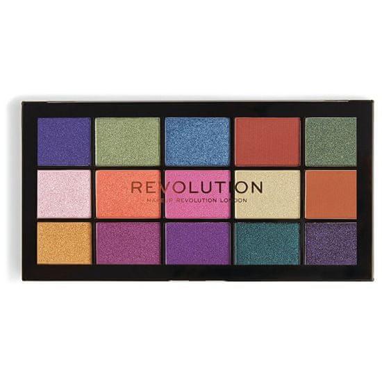 Makeup Revolution 15 Paleta cieni do oczu Przeładowana pasja do palety kolorów 16,5 g