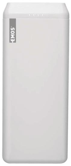 EMOS AlphaQ 20 punjiva baterija, 20.000 mAh 1613052501, bijela